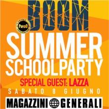 Boom School Summer Party 2019 Magazzini Generali di Milano