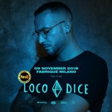 Venerdi 9 Novembre 2018 Loco Dice Fabrique Milano