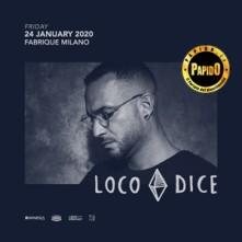 Venerdi 24 Gennaio 2020 Loco Dice Fabrique Milano