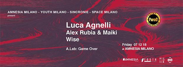 Luca Agnelli Venerdi 7 Dicembre 2018 Amnesia Milano