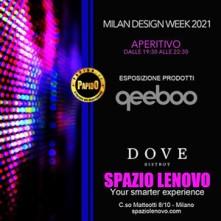 Milano Design Week Spazio Lenovo Milano Sabato 11 Settembre 2021
