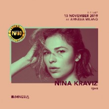 Nina Kraviz Venerdi 15 Novembre 2019 @ Amnesia