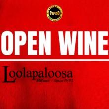 Open Wine @ Loolapaloosa Lunedi 4 Ottobre 2021