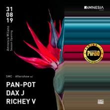 Pan Pot Sabato 31 Agosto 2019 @ Amnesia