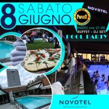 Pool Party @ Novotel Linate Sabato 8 Giugno 2019