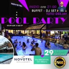 Festa in Piscina @ Novotel Linate Milano Sabato 15 Giugno 2019
