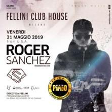 Roger Sancez 2019 Fellini Venerdi 31 Maggio 2019