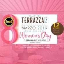 Festa della Donna @ Terrazza 12 Milano Venerdi 8 Marzo 2019 Discoteca di Milano