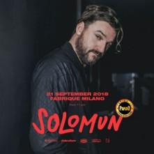 Venerdi 21 Settembre 2018 Solomun Fabrique Milano