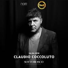 Claudio Coccoluto Martedi 24 Aprile al Noir