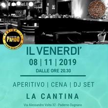 La Cantina Venerdi 8 Novembre 2019 Serata