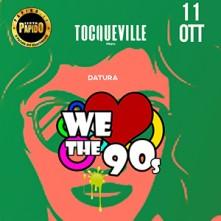 Omaggio Donna in lista PAPIDO Giovedi We Love The 90's