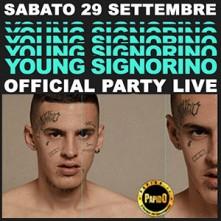 Sabato 29 Settembre 2018 Young Signorino Time Club Milano