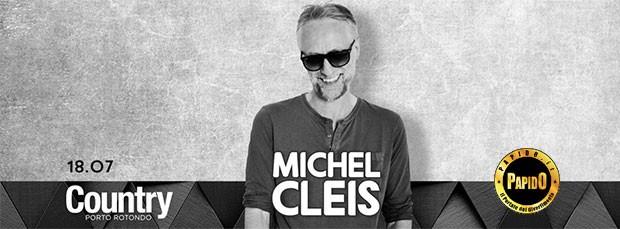 Dj Michel Cleis Country Club Mercoledi 18 Luglio 2018