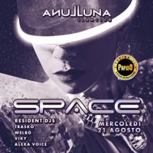 Space @ Luna San Teodoro Mercoledi 21 Agosto 2019