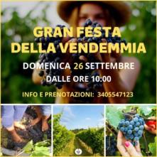 Domenica 26 Settembre 2021 Cena in Vigna Cuceglio