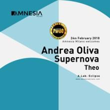 Andrea Oliva Amnesia Milano