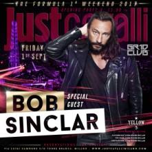 Bob Sinclar Milano al Just Cavalli Venerdi 1 Settembre 2017