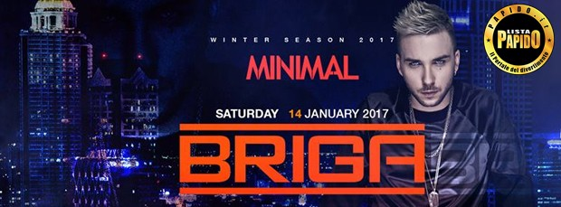Briga Minimal Club Sabato 14 Gennaio 2017