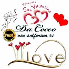 San Valentino Da Cecco Milano a solo 40€ a Persona - Info 3332434799