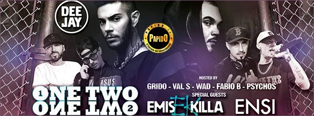 Ensi & Emis Killa Venerdi 10 Novembre 2017 @ Gate Milano