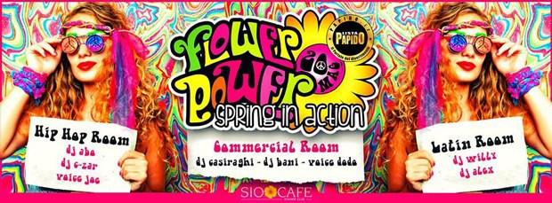 Flower Power Sabato Sera Sio Milano