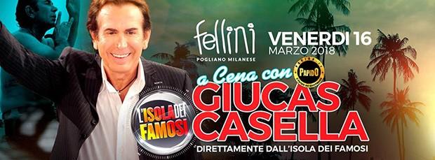 Giucas Casella @ Fellini Venerdi 16 Marzo 2018 Discoteca di Pogliano milanese