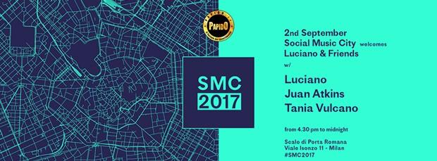 Sabato 2 Settembre 2017 - Luciano Social Music City Milano