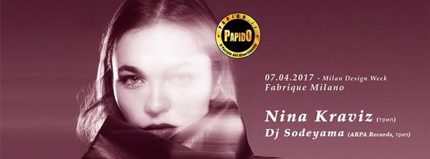Venerdi 7 Aprile 2017 - Nina Kraviz Fabrique Milano