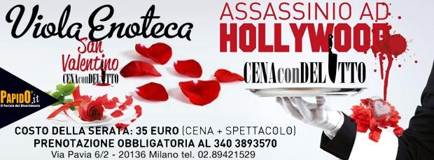 San Valentino con Delitto Enoteca Viola Milano