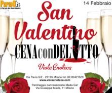 San Valentino con Delitto 2017 Milano