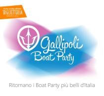 Gallipoli Boat Party