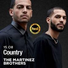 The Martinez Brothers @ Country Porto Rotondo Mercoledi 15 Agosto 2018