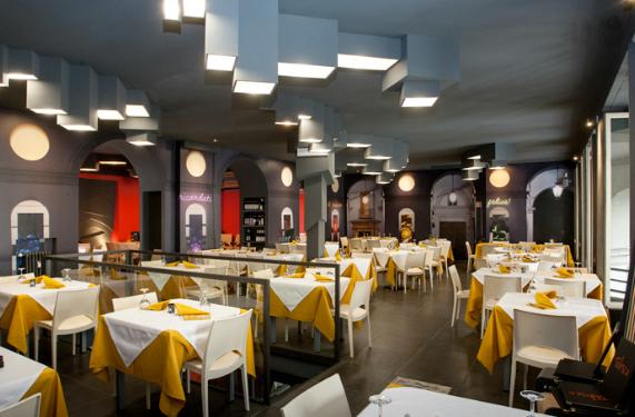 Il tabisca ristorante e pizzeria in piazza vittorio a torino for Quattro ristoranti torino