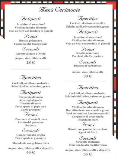 Mirò Ristorante E Pizzeria Torino